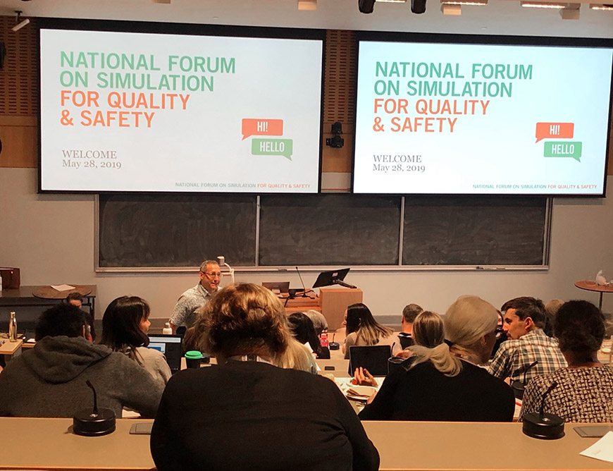 UBC MHLP Clinical Education - National Forum on Simulation for Quality and Safety