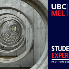 MEL Student Experience Part Time Considerations