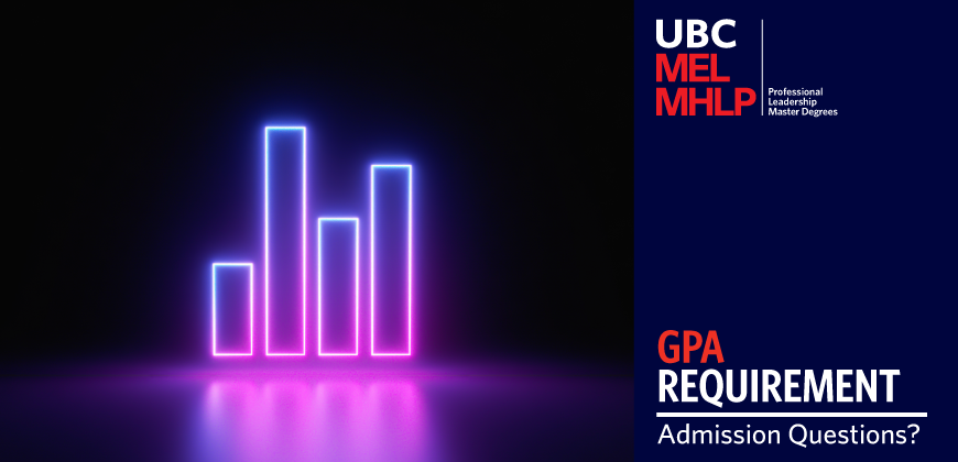 UBC MEL MHLP - Admission Questions: GPA Requirement