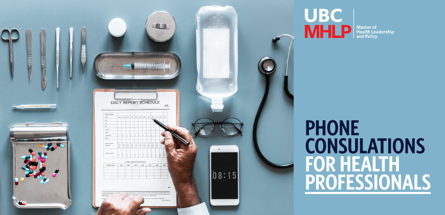 MHLP Health Professional Phone Consultations